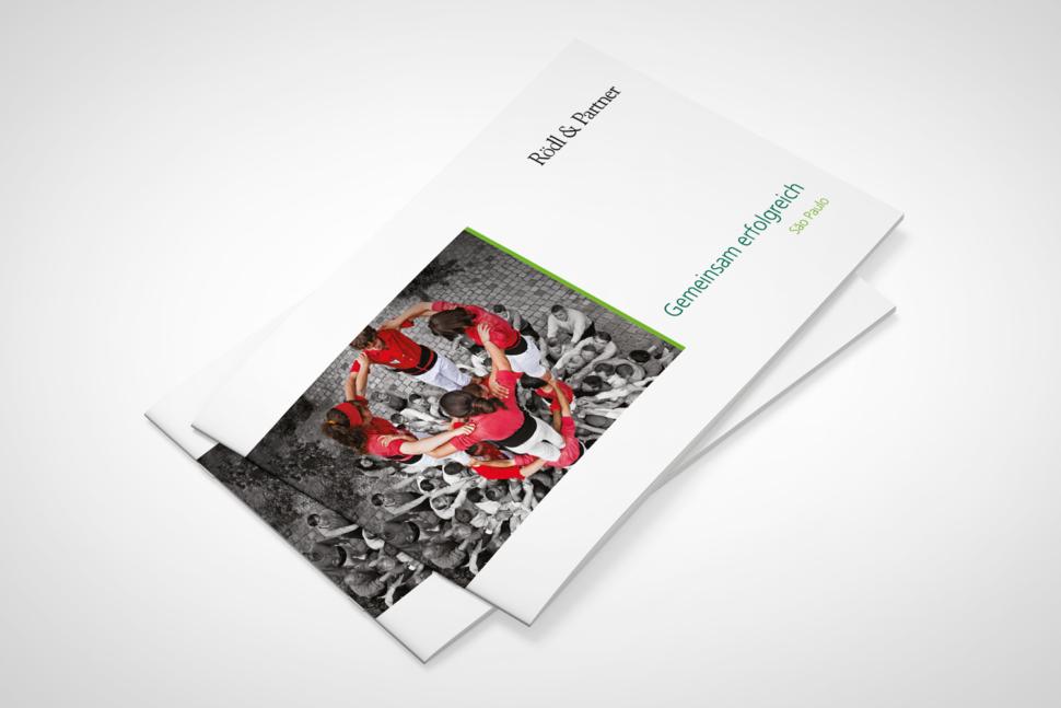 Folder divulgação primeiro escritório Brasil Rodl & Partner